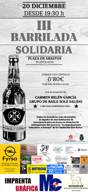 III BARRILADA SOLIDARIA GRUPO JOVEN CRISTO DEL AMOR