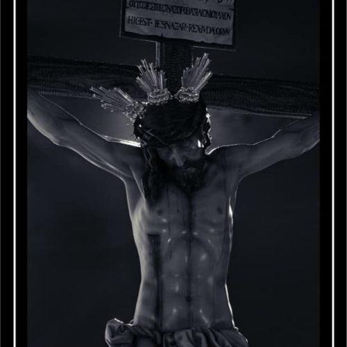 Cartel de Cuaresma Grupo Joven Hermandad del Santísimo Cristo del Amor y presentación pregonera 2020